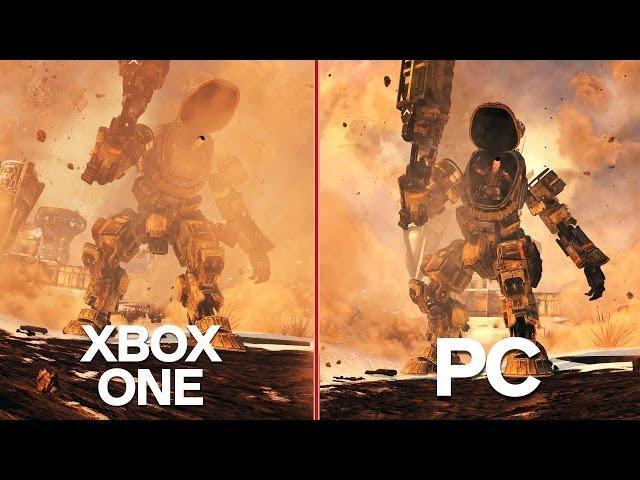 Titanfall Xbox One Vs Pc Graphics Comparison