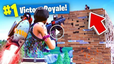 New Jetpack Gameplay In Fortnite Solid Gold V2