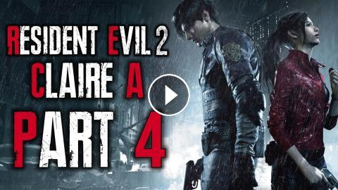 Resident Evil 2 Remake - Let's Play (Claire A) - Part 4 -