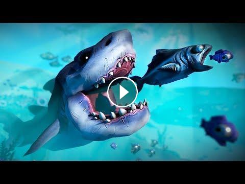 Play as a fish try to survive feed and grow fish for Feed and grow fish the game