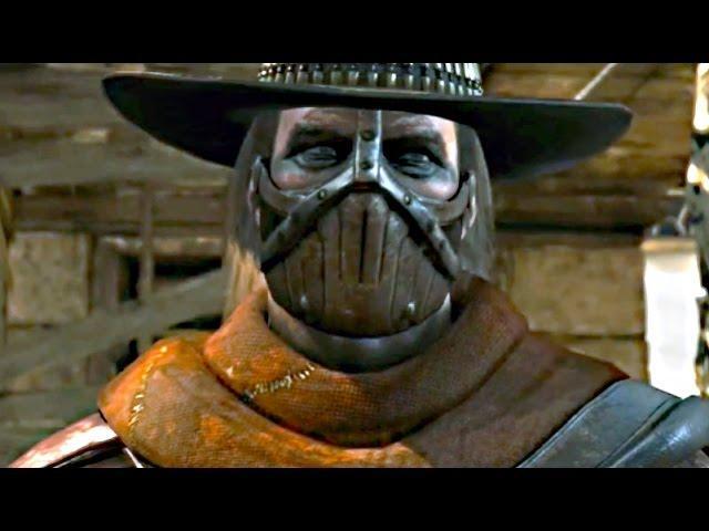 Mortal Kombat X Erron Black Gameplay Fatality X Ray Trailer