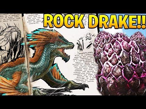 ARK: Survival Evolved - BABY ROCK DRAKE EGG HATCHING & RAISING