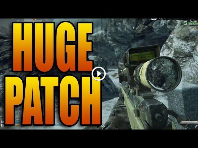Call of Duty: Ghosts - IED Nerf, Sniper Nerf, Gun Game Playlist, and more!  (Ghost Patch Notes)