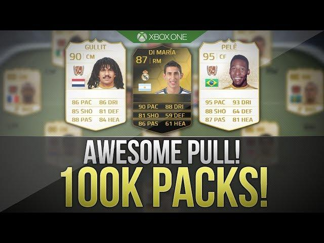 FIFA 14 NEXT GEN | 3 x 100K PACKS! w/ INFORM + Awesome Players!