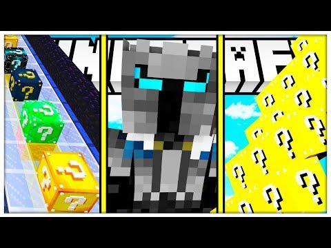 Minecraft: YOUTUBER LUCKY BLOCK! (THEDIAMONDMINECART