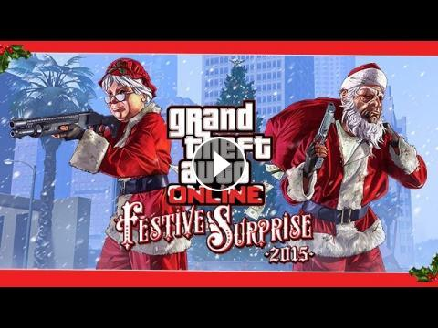 Gta 5 Christmas.Gta 5 Online Christmas Dlc 2015 Contents Funny Moments