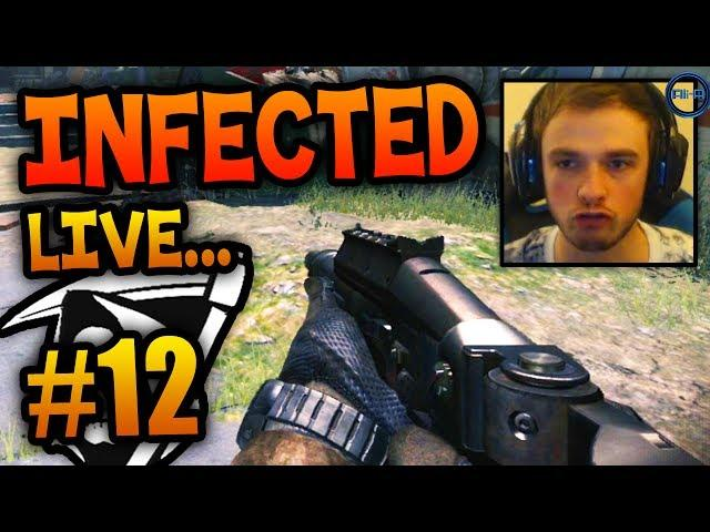 """HOLD THE LINE!"" - Road To - KEM Infected #12 LIVE w/ Ali-A! - (Call of Duty: Ghost Gameplay)"
