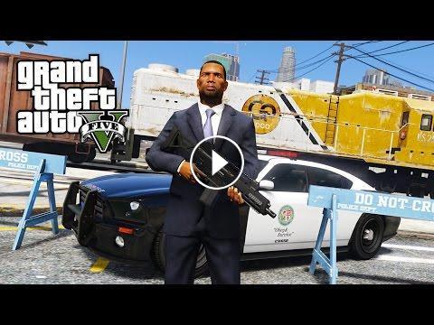 GTA 5 Mods - PLAY AS A COP MOD!! GTA 5 OFFICER BLOODBATH LSPDFR MOD