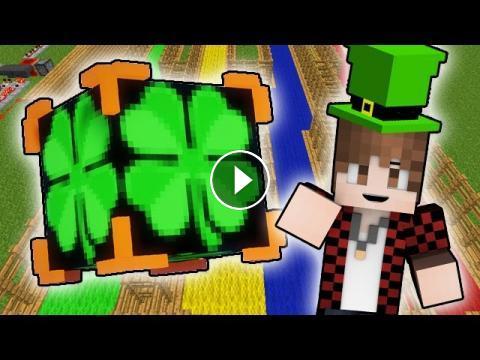 LUCKY BLOCKS IRISH LUCK BLOCKS RACE! Minecraft Lucky Blocks
