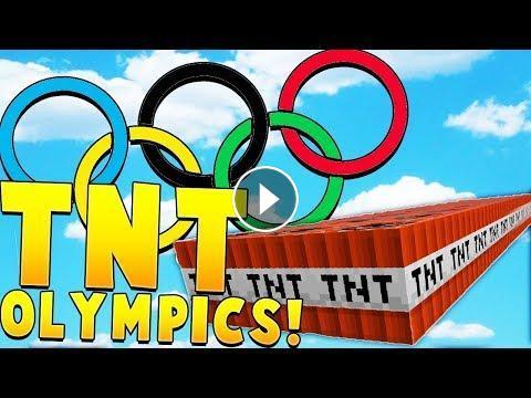 TNT TAG OLYMPICS Minecraft TNT GAMES - Minecraft tnt spiele