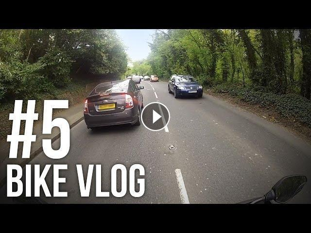 BIKE VLOG #5 - ROADWORKS RAGE!!!