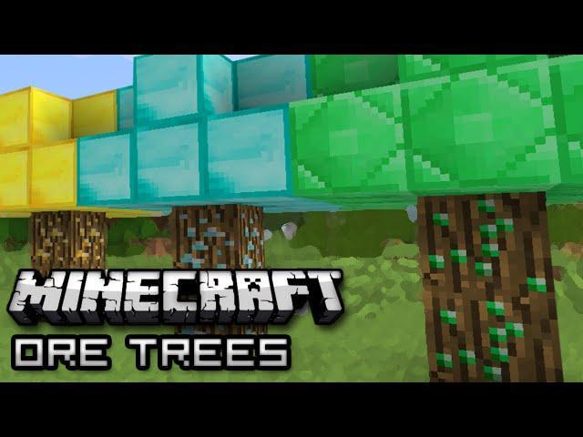 Minecraft Grow Money On Trees Tree Ore Mod Showcase