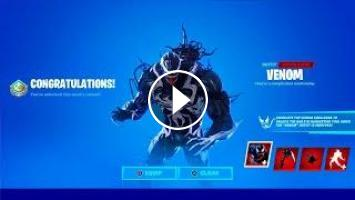 Venom Free Skin Unlocked In Fortnite Venom fortnite skin chapter 2 season 4 the last laugh bundle gameplay + battle royal with viewers! venom free skin unlocked in fortnite