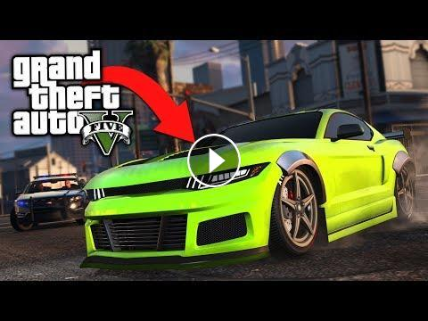 BUYING and CUSTOMIZING the NEW Dominator GTX in GTA 5 Online!! *BEST