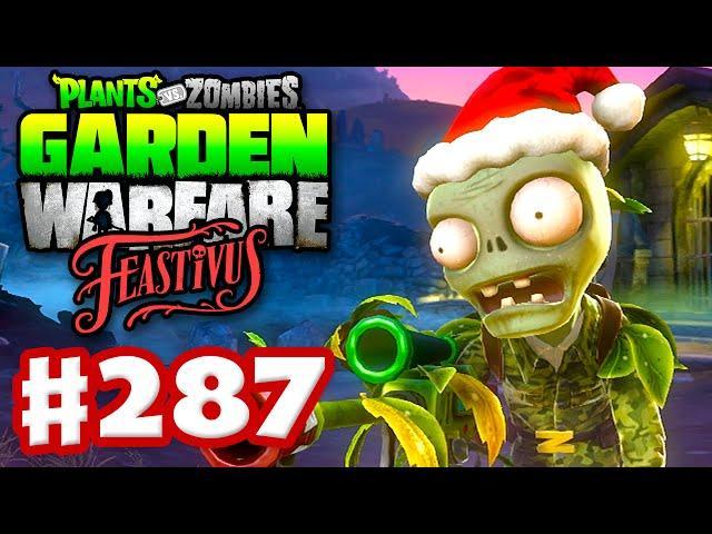 Plants Vs. Zombies: Garden Warfare   Gameplay Walkthrough Part 287   Camo  Santa Hat! (PC)