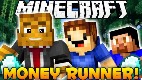 Minecraft 3vs3 Money Runner w/ The Pack