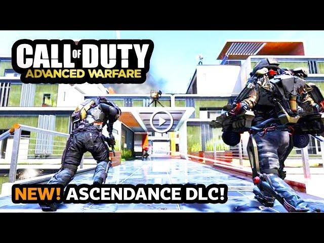 NEW Call of Duty: Advanced Warfare ASCENDANCE DLC Map Pack ... Call Of Duty Advanced Warfare New Map Pack on