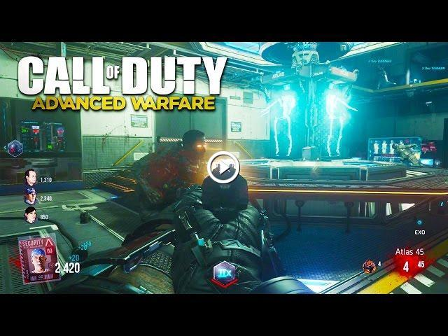 Call Of Duty Advanced Warfare Zombies Gameplay New Advanced Warfare Exo Zombies Dlc Gameplay