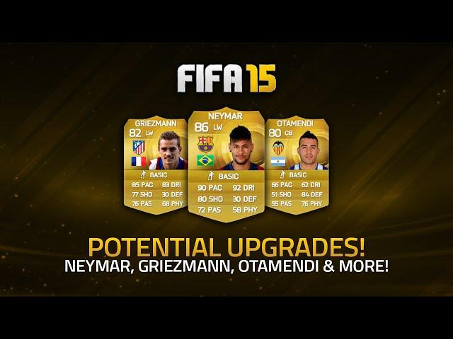 POTENTIAL JANUARY UPGRADES! - NEYMAR, GRIEZMANN, OTAMENDI & MORE! | FIFA 15 Ultimate Team