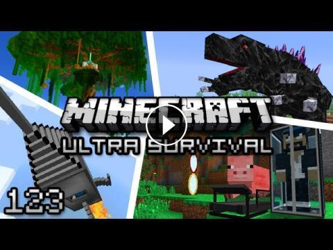 Minecraft: Ultra Modded Survival Ep  123 - UNLUCKY
