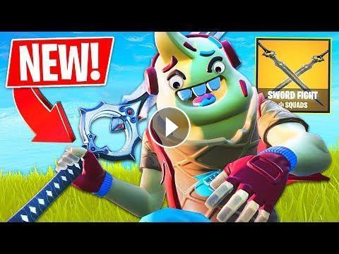 New Fortnite Sword Fight Game Mode Fortnite Battle