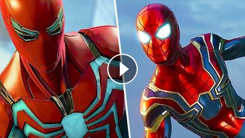 SPIDER-MAN PS4 - All Suits Trailer (Velocity Suit, Iron