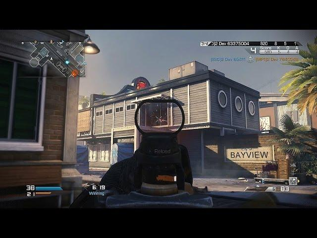 Call of Duty: Ghosts - BAYVIEW GAMEPLAY! New Trolley (COD Ghost Multiplayer Onslaught Map Pack DLC)