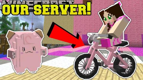 Minecraft: OUR OWN MINECRAFT SERVER CHALLENGE!! - POPULARMMOS WORLD [1]