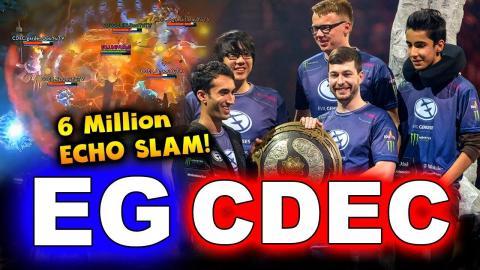 EG vs CDEC - TI5 GRAND FINAL - INTERNATIONAL 2015 DOTA 2