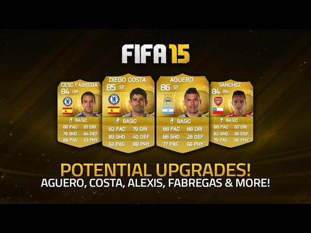 POTENTIAL JANUARY UPGRADES! - AGÜERO, COSTA, SÁNCHEZ, FÀBREGAS & MORE! | FIFA 15 Ultimate Team
