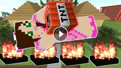 Minecraft: WEAPONS FOR WAR! (LANDMINES, BOMBS, & EXPLOSIVES!) Custom