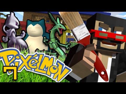 Minecraft: Pokemon Ep  7 - SSUNDEE PAINT PRANK