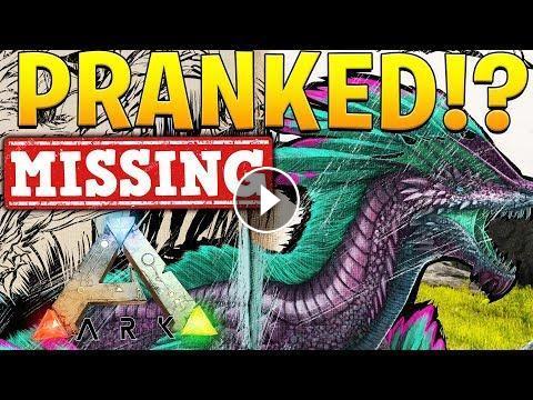 I GOT PRANKED (MISSING ROCK DRAKE)! - ARK SURVIVAL EVOLVED