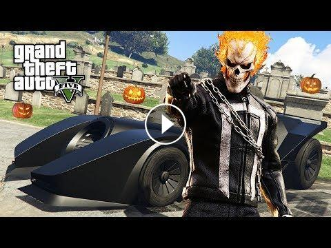 GTA 5 HALLOWEEN DLC - NEW BATMOBILE TRANSFORM RACE & CONDEMNED ...