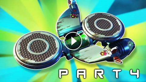 Hoverboard Unlocked In Ratchet And Clank Walkthrough Gameplay Part 4