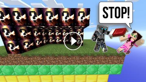 Minecraft Overpowered Lucky Block Bedwars Modded Mini Game