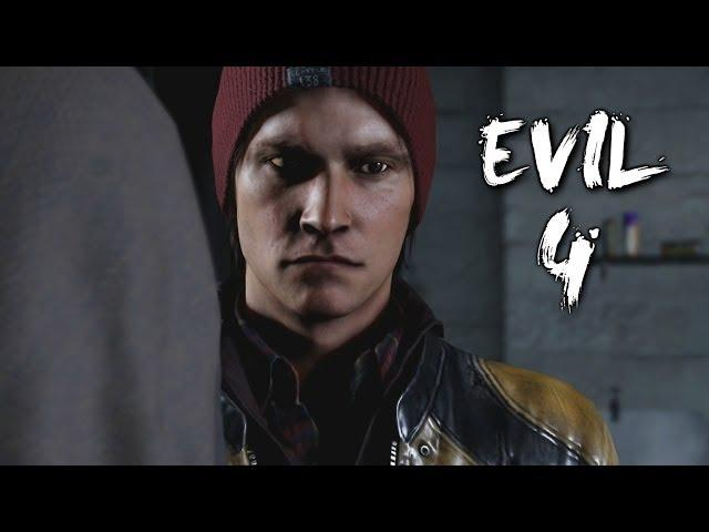 Infamous Second Son All Ending Choices Good Evil Bad Karma End Ps4