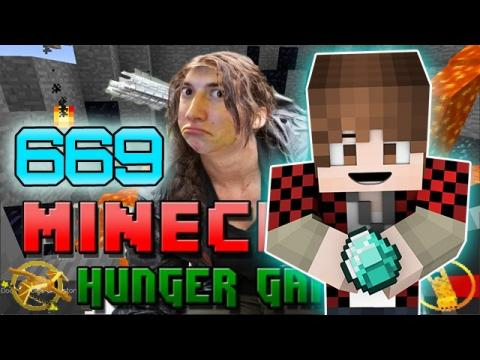 """CRAZY CRAFTER GAMES"" Minecraft: Hunger Games w/Bajan Canadian! Game 669"