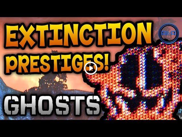 Call Of Duty Ghosts Extinction Prestige Emblems Relics More
