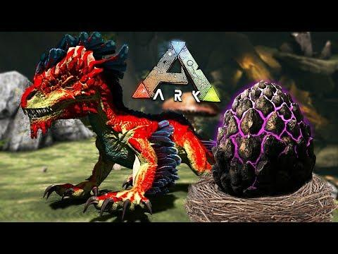 ARK: Survival Evolved - BABY ROCK DRAKE EGG HATCHING