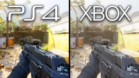 Playstation 4 Vs Xbox One Black Ops 3 Graphics Comparison Xb1 Ps4 Gameplay