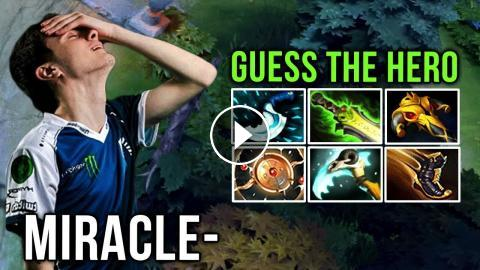 Miracle- Guess the Hero Edition Aeon Disk Build on Mid - Dota 2 Patch 7.19