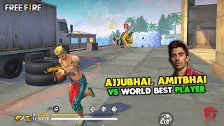 Ajjubhai94 And Amitbhai Vs World Best Player Clash Squad Overpower Gameplay Garena Free Fire
