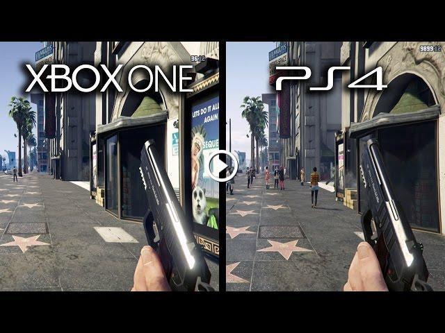 Xbox One Game Graphics : Grand theft auto v xbox one vs playstation graphics