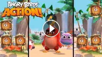 Angry Birds Action Hatchlings Movie Magic Dvd Blu Ray