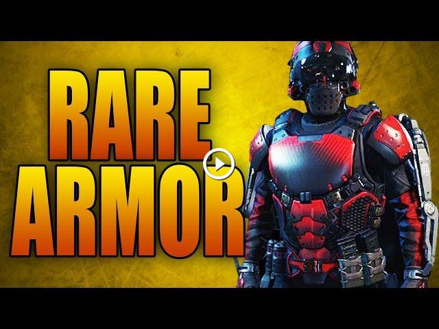 Super Rare Bloodshed Armor in Advanced Warfare! 250