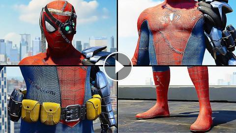Marvel's Spider-Man PS4 All 40 Suits Trailer EVERY Suit (2019)