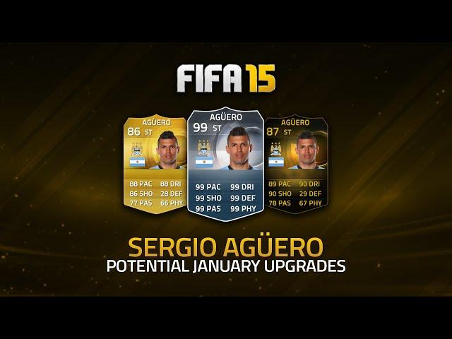 POTENTIAL UPGRADES! - SERGIO AGÜERO! | FIFA 15 Ultimate Team