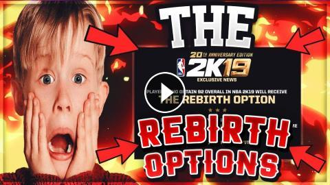 NBA 2K19 THE REBIRTH OPTION | TRANSFER UPGRADES TO ANOTHER