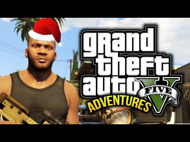 Gta 5 Funny Moments 5 Christmas Zombies Sharks